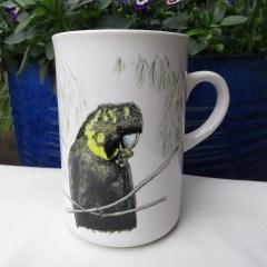 Glossy Black-Cockatoo Mug