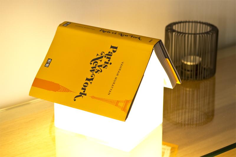 Bookrest lamp - www.paperboat.fr