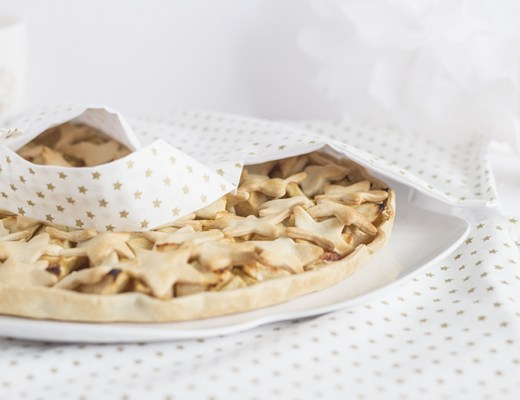 Apple pie étoilée - paperboat.fr