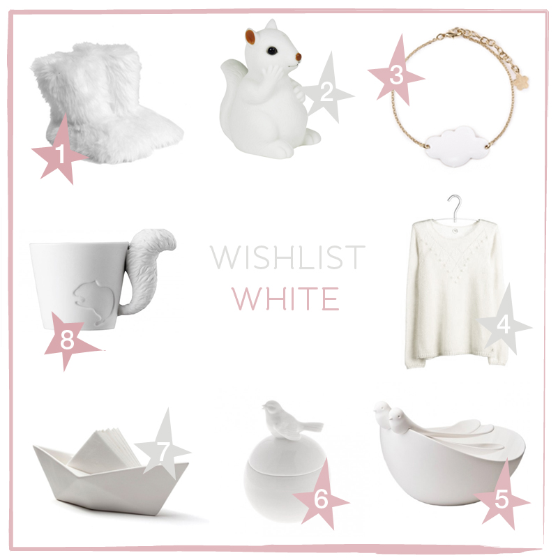 wishlist white, paperboat.fr