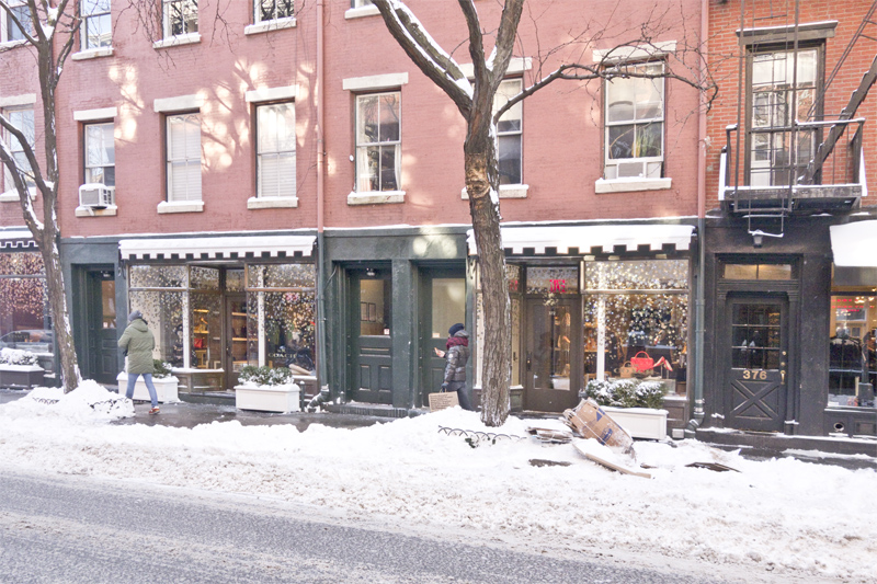Snow in New York, Paperboat.fr