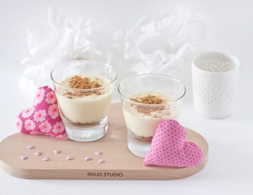 Dessert au Speculoos - Saint Valentin - paperboat.fr