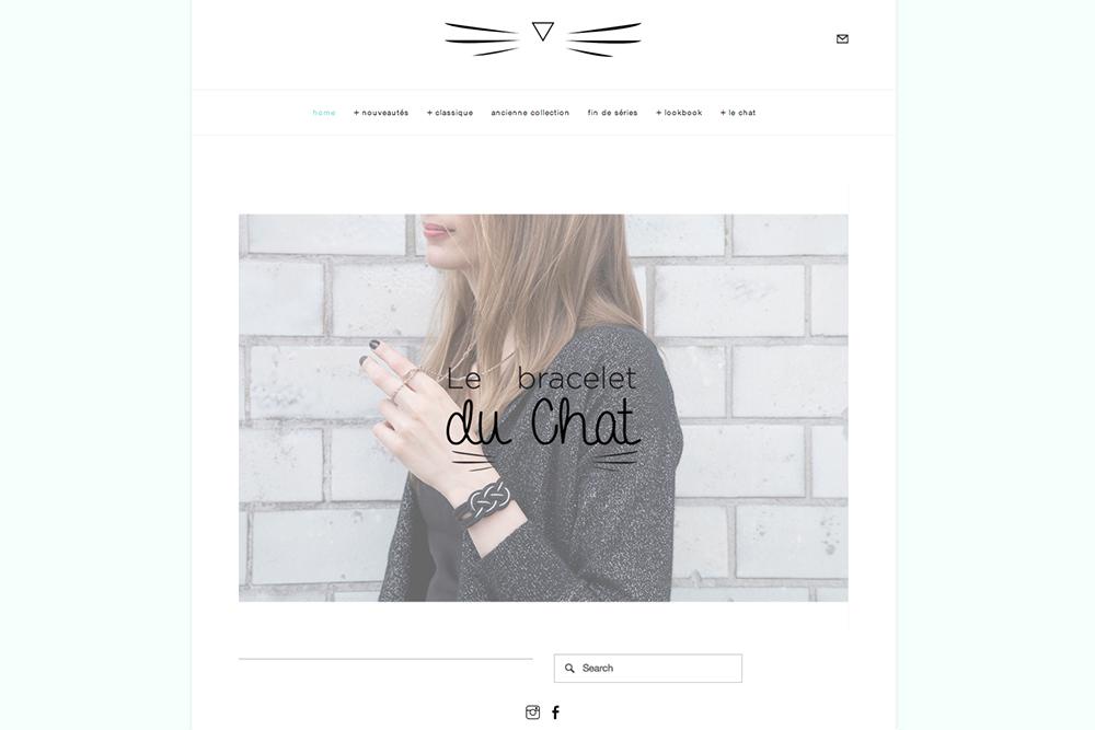 Le bracelet du chat - paperboat.fr
