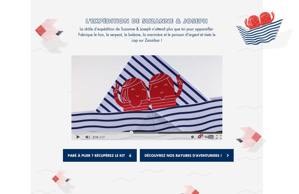 Petit Bateau - paperboat.fr