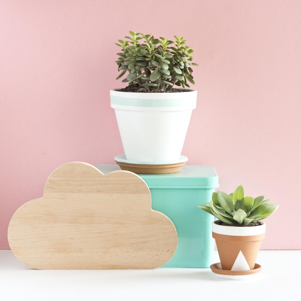 DIY pots succulente pastel - www.paperboat.fr