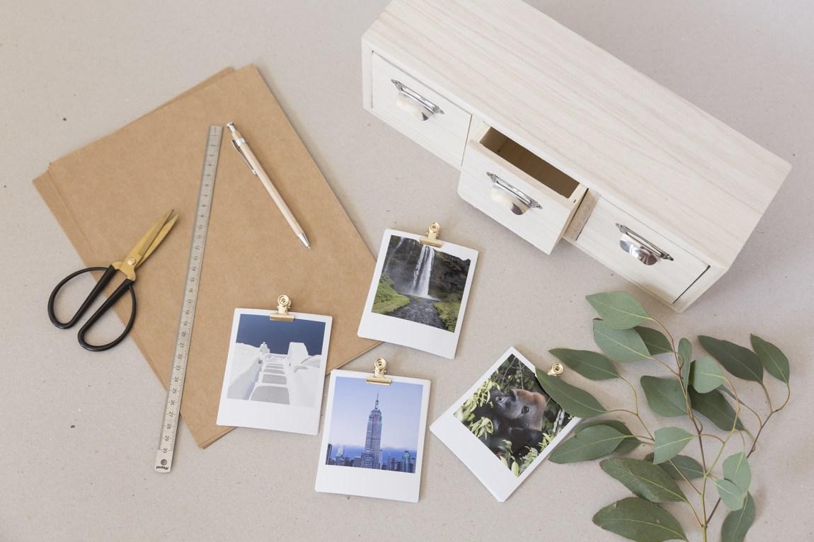DIY - Tiroirs à souvenirs - www.paperboat.fr