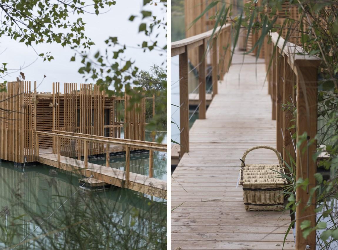 Cabanes des Grands Cépages - www.paperboat.fr