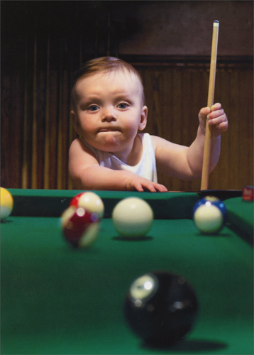 Baby Pool Shark Funny Masculine Birthday Card By Avanti Press