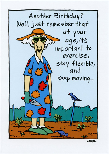 Just Remember That At Your Age Funny Humorous Birthday