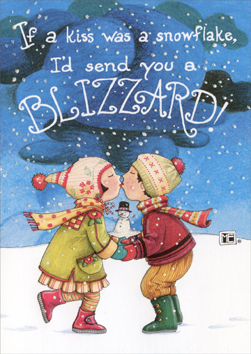 Blizzard Christmas Card By Recycled Paper Greetings