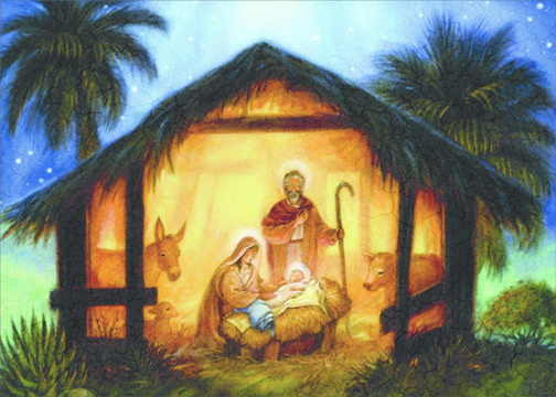 The Nativity Randy Wollenmann Box Of 18 Religious