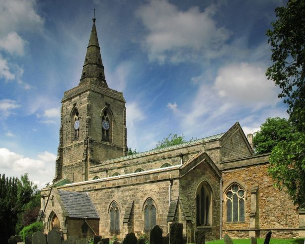 Humberstone church Leicester