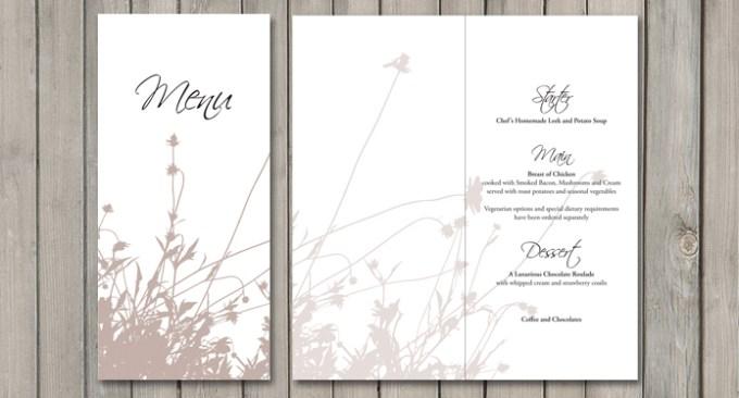 Summer Breeze Wedding Stationery