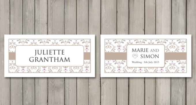 True Love Wedding Stationery