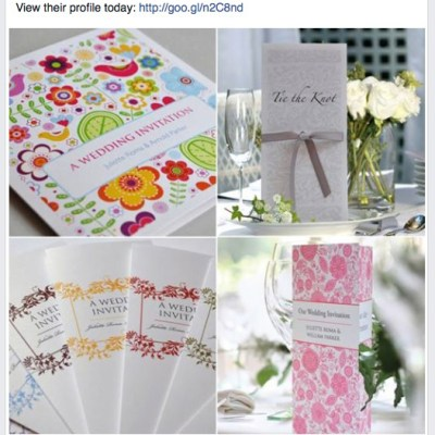 Wedding Stationery Supplier of the Day