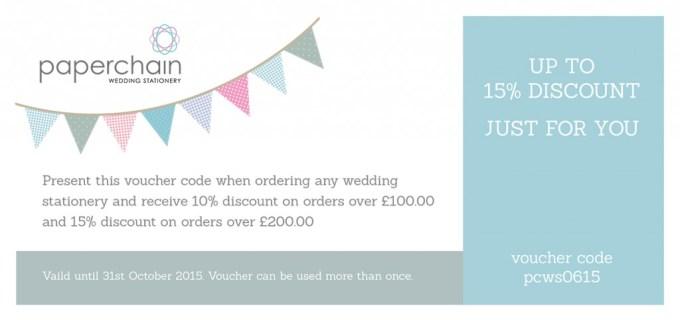 wedding stationery discount