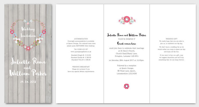 Amour Wedding Stationery