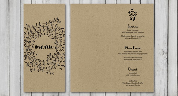 Wreath Wedding Stationery