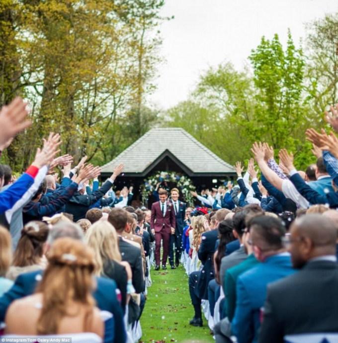 Tom Daley Wedding