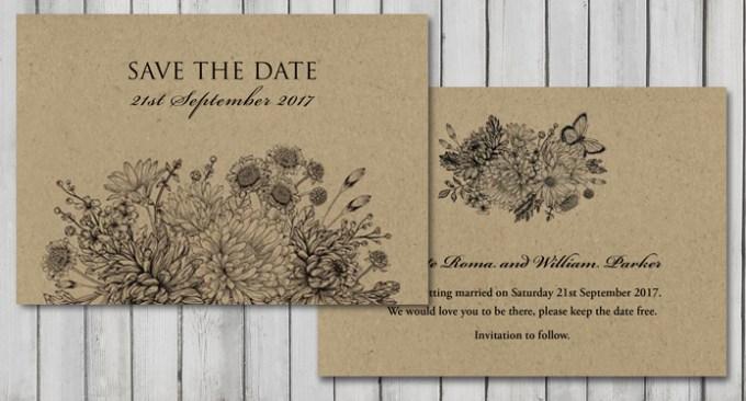 Botanical Garden Wedding Stationery