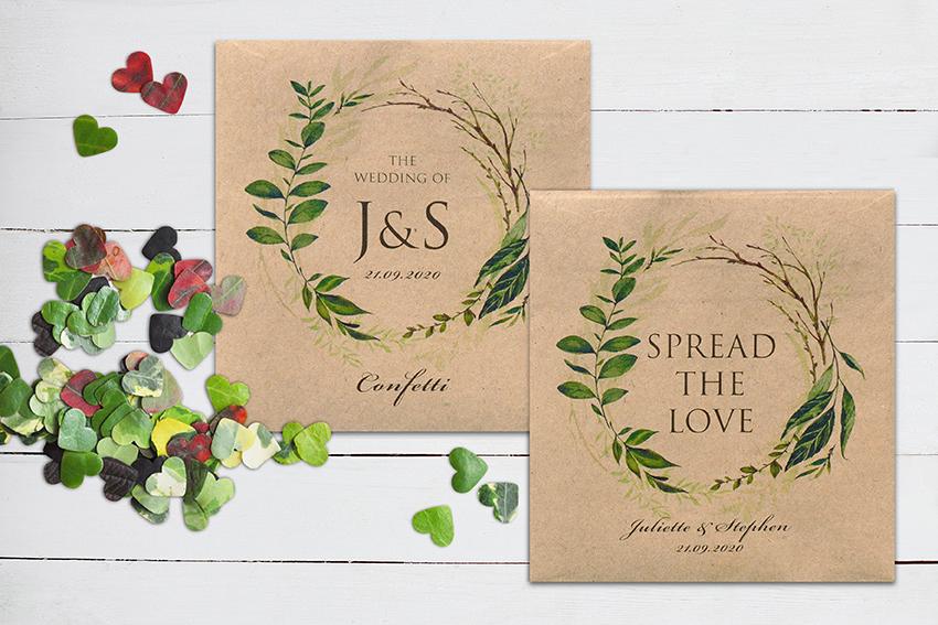 Greenery Wedding Stationery