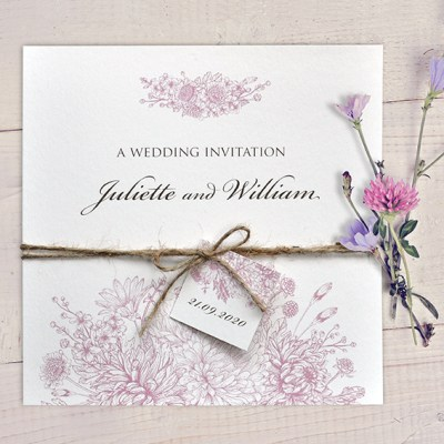 Perfect  winter wedding stationery