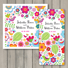 Bright and colourful Sunshine wedding collections