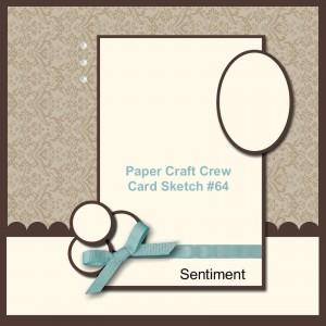 Stampin Up challenge blog card sketch