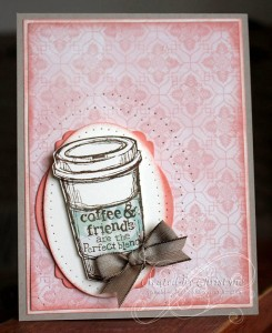 PCC 062 - Coffee and Friends Full Card