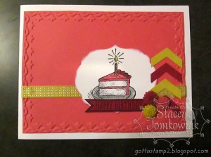 Card Sketch sample by Stacey