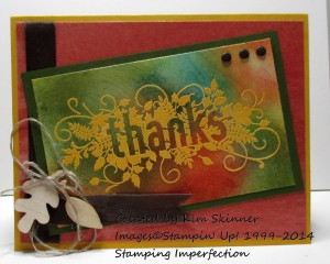 Paper Craft Crew Card Sketch #108 design team submission by Kim Skinner