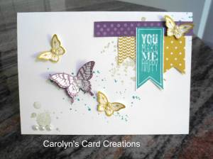 Paper Craft Crew Card Sketch #119 design team submission by Carolyn Lindenmayer