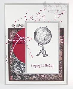 Paper Craft Crew Card Sketch #119 design team submission by Pam Staples. #stampinup #traveler #pamstaples #sunnygirlscraps