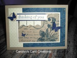 Paper Craft Crew Card Sketch #123 design team submission by Carolyn Lindenmayer