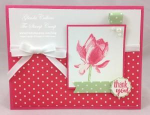 Paper Craft Crew Card Sketch #126 design team submission by Glenda Calkins