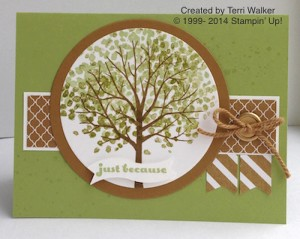 Paper Craft Crew Card Sketch #127 design team submission by Terri Walker