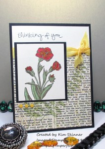 Paper Craft Crew Card Sketch #128 design team submission by Kim Skinner. #stampinup #papercraftcrew #kimskinner