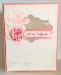 Paper Craft Crew Card Sketch #131 design team submission by Christyne Richardson