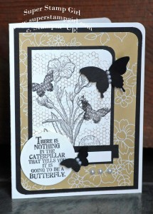 Paper Craft Crew Card Sketch #131 design team submission by Crystal Komara. #stampinup #papercraftcrew #crystalkomara