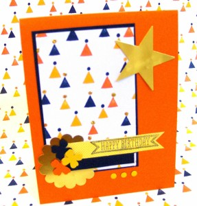Paper Craft Crew Card Sketch #133 design team submission by Janice Rosenthal Rock. #stampinup #janicerosenthal