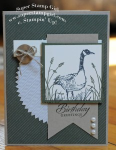 Paper Craft Crew Card Sketch #136 design team submission by Crystal Komara. #stampinup #papercraftcrew #crystalkomara