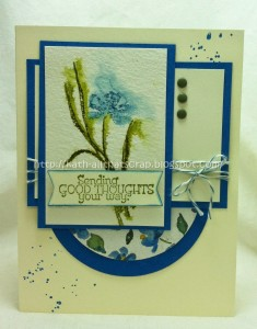 Featured Artisan for Paper Craft Crew Card Sketch 127