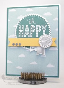 Paper Craft Crew Card Sketch #140 design team submission by Pam Staples. #stampinup #papercrafts #pamstaples #sunnygirlscraps