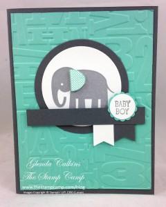 Paper Craft Crew Card Sketch #140 design team submission by Glenda Calkins. #stampinup #papercrafts #glendacalkins
