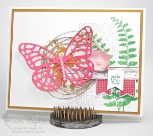 Paper Craft Crew Card Sketch #144 design team submission by Pam Staples. #stampinup #papercrafts #pamstaples #sunnygirlscraps