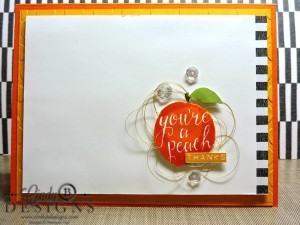 Paper Craft Crew Card Sketch #147 design team submission by Cindy Coutts. #stampinup #cindycoutts