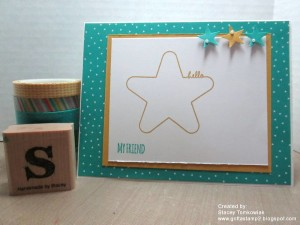 Paper Craft Crew Card Sketch #147 design team submission by Crystal Komara. #stampinup #papercraftcrew #staceytomkowiak