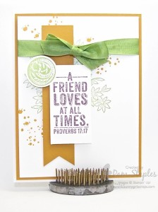 Paper Craft Crew Card Sketch #149 design team submission by Pam Staples. #stampinup #papercrafts #pamstaples #sunnygirlscraps