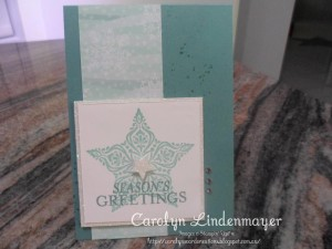 Paper Craft Crew Card Sketch #152 design team submission by Carolyn Lindenmayer. #stampinup