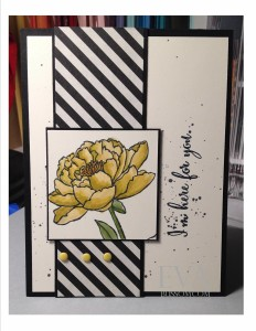 Paper Craft Crew Card Sketch #152 design team submission by Eva Bussom. #stampinup #papercraftcrew #evabussom